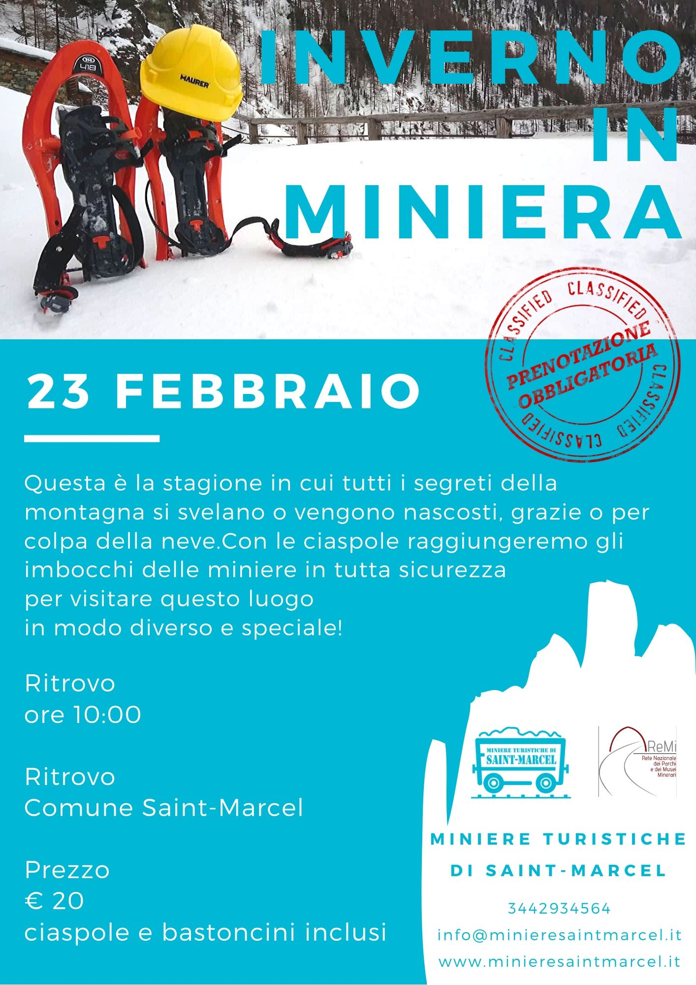 23 Febbraio -Inverno in Miniera