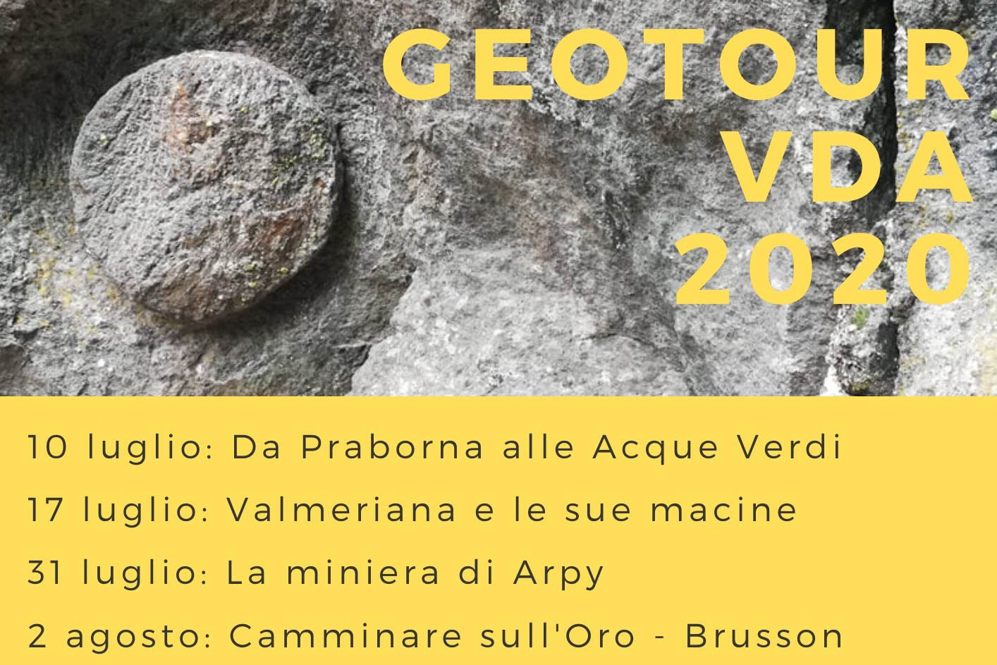 Geotour - Miniere Saint Marcel